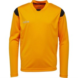 Mitre Motion Basic Match Jersey Amber/Black