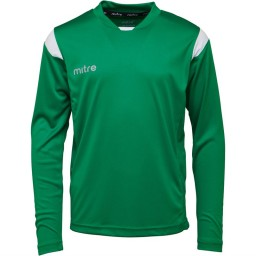 Mitre Motion Basic Match Jersey Emerald/White
