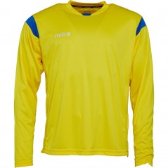 Mitre Motion Match Jersey Yellow/Royal