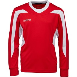 Mitre Frequency Match Jersey Scarlet/White