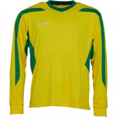 Mitre Frequency Match Jersey Yellow/Emerald