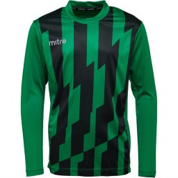 Mitre Fusion Match Jersey Emerald/Black