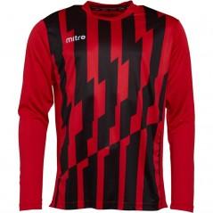 Mitre Fusion Match Jersey Scarlet/Black