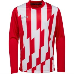 Mitre Fusion Match Jersey Scarlet/White