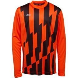 Mitre Fusion Match Jersey Tangerine/Black