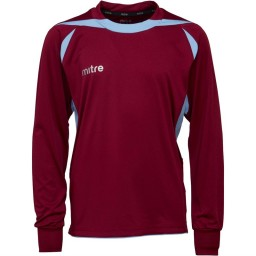 Mitre Junior Angular Match Jersey Maroon/Sky