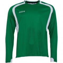 Mitre Pressure Match Jersey Emerald/White