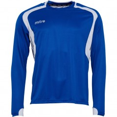 Mitre Pressure Match Jersey Royal/White