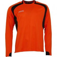 Mitre Pressure Match Jersey Tangerine/Black