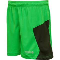 Mitre Junior Defense Match Lime/Black
