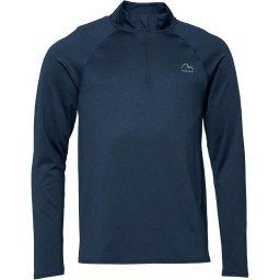 More Mile Performance 1/4 Navy Marl