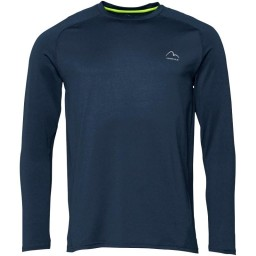 More Mile Performance Navy Marl