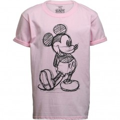 Disney Mickey Mouse Sketch T-Light Pink