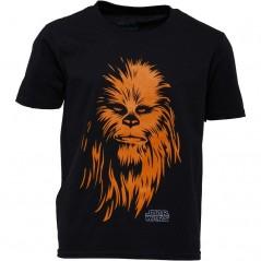 Star Wars Chewie T-Black
