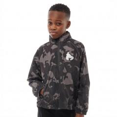 Money Junior Camo Windbreaker Shale Grey