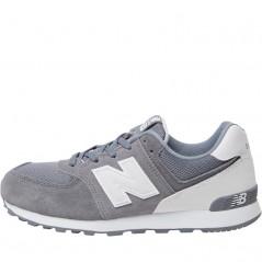 New Balance Junior 574 Grey/White