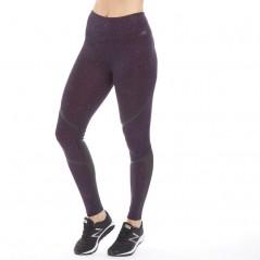 New Balance Printed Splatter Tight Leggings Claret