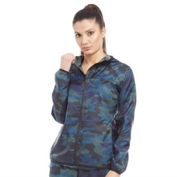 New Balance Accelerate Printed Windcheater Camo