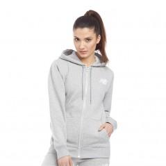 New Balance Full Hoodie Athletic Grey