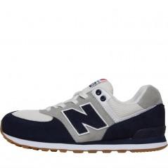 New Balance Junior 574 Blue/White