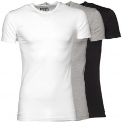 Henleys Black/White/Grey