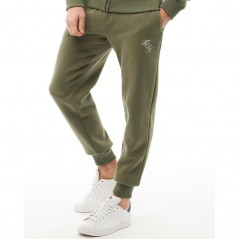 French Connection Script Skinny Khaki/White