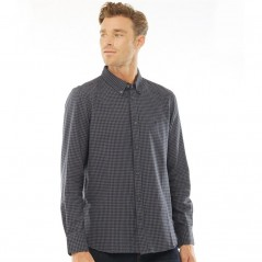 French Connection Gingham Charcoal/Marine