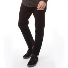 French Connection James Tapered Solid Black Stretch