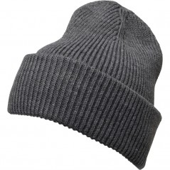 French Connection Plain Beanie Charcoal