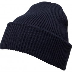 French Connection Plain Beanie Marine