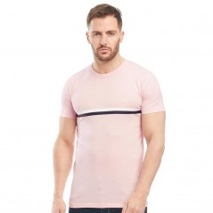 French Connection 2 StT-Pink Melange/White/Marine