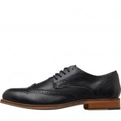 French Connection Casual Brogues Black