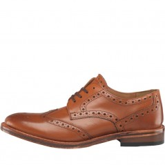 Onfire Leather Goodyear Welted Leather Sole Brogues Tan
