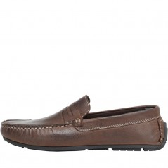 Onfire Leather Driving Brown