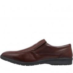 Onfire Leather Slip-On Brown