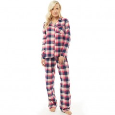 Onfire Check Classic Set Pink/Navy Check