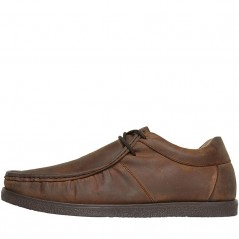 Onfire Distressed Leather Wallaby Brown