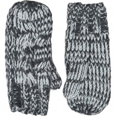 Onfire Cable Mittens Charcoal Marl