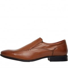 Onfire Leather Slip On Tan