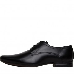 Onfire Lace Leather Derby Black
