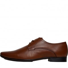 Onfire Lace Leather Derby Tan