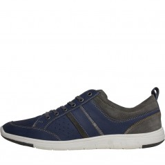 Onfire Leather Casual Blue