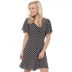 Onfire Polka Dot Black/Cream