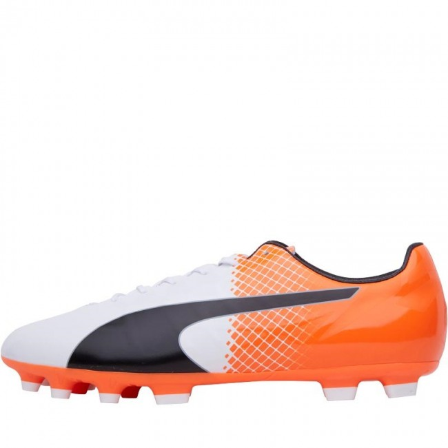 Puma evoSPEED SL Synthetic II AG White/Black/Orange