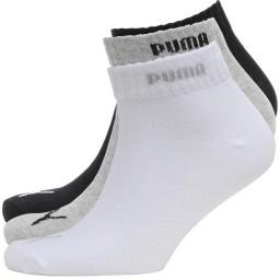 Puma Quarter Grey/White/Black