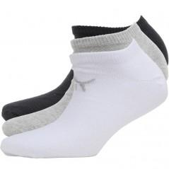 Puma No Show Grey/White/Black