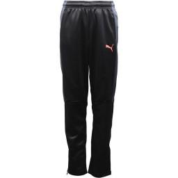Puma Junior evoTRG DryCELL Zipped Black/Ebony/Fiery Coral