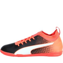 Puma evoFTB IT Indoor Black/White/Fiery Coral
