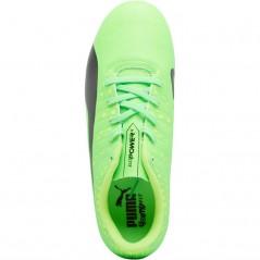 Puma Junior evoPOWER Vigor 4 FG Green Gecko/Puma Black/Safety Yellow