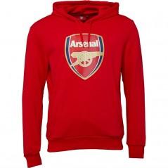 Puma AFC Arsenal Royal Crest Hoodie High Risk Red